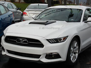 2015 16 17 Hood Scoop For Ford Mustang Ram Air Style Mrhoodscoop Painted Hs003