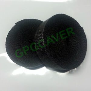 2 Rolls Black 2 50ft Racing Fiberglass Exhaust Header Pipe Heat Wrap Tape