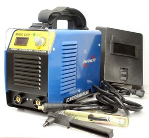 Mma 160 Amp Dc Inverter Arc Welding Welder Machine 30a 160a Rod Stick Weld