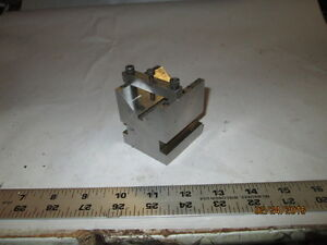 Machinist Lathe Mill Tool Maker S Ground Hardened Special V Block For Hold