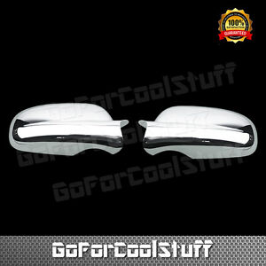 For 2000 2005 Chevy Chevrolet Impala Chrome Mirror Covers
