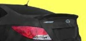 New Painted For Hyundai Accent 4dr 2012 2020 Lip Rear Spoiler Any Color No Drill