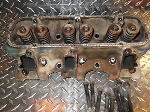 2 68 Jeepster Commando V6 78 Gm 231ci Left Cylinder Head W Bolts