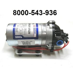 New Shurflo 12v Electric Rv Water Transfer Pump 1 8 Gpm 60 Psi 8000 543 936