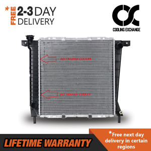 Radiator For Ford Ranger Bronco Ii Explorer Navajo 2 8 2 9 3 0 4 0 V6 M t