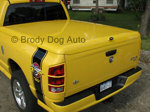 Dodge Ram Fiberglass Hard Tonneau Bed Covers 1994 2020 Painted Sport Lid Wrap