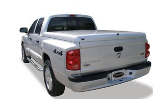 Dodge Dakota Fiberglass Hard Tonneau Bed Cover 2005 2012 Painted Sport Lid Wrap