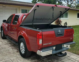 Fiberglass Hard Tonneau Bed Covers For Nissan Frontier 2005 2018 Painted Slw