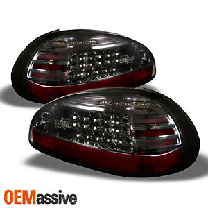 Fits 97 03 Pontiac Grand Prix Smoked Philips Lumileds Led Tail Lights Brake Lamp