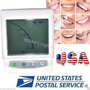 Usa Ship Apex Locator Root Canal Finder Dental Endodontic Equipment For Dentist