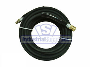 Pressure Washer Hose 3 8 X 50 Ft With Quick Connect Socket Plug