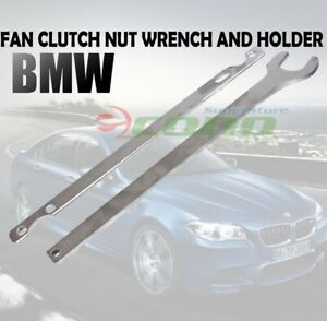 Bmw Gm Fan Clutch Nut Wrench Holder Water Hub Holding Tools M52 M54 M56 M60