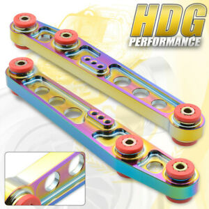 Honda Civic Del Sol Integra Jdm Drift Track Rear Lower Control Arm Neo Chrome