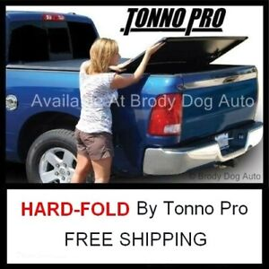 2015 19 Ford F150 Short 5 5 Ft Tri Hard Fold Tonneau Bed Cover Tonno Pro Hf 364