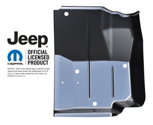 Front Floor Pan Driver Side 1987 1995 Jeep Wrangler Yj Key Parts 0480 225 L