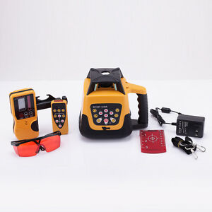 500m Range Red Beam Automatic Rotary Rotating Laser Level Self leveling
