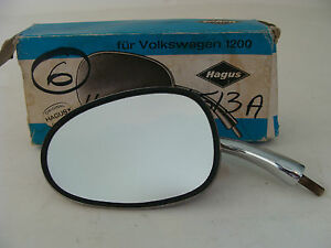 Hagus Side Mirror Vtg Nos Nib Split Window Volkswagen 1200 Beetle