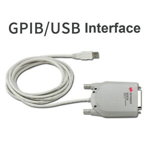 Us New Usb Gpib Interface Adapter High speed Usb 2 0 For Hp Agilent 82357b