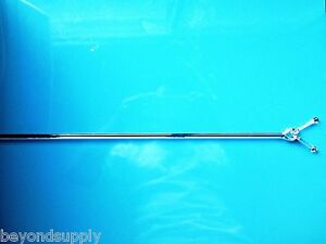 Lab Glass Overhead Stirrer Mixer Shaft Paddle 6mm New