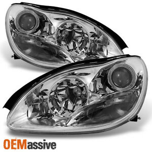 Fit 00 06 Mercedes Benz W220 S320 s350 Projector Headlights Left Right