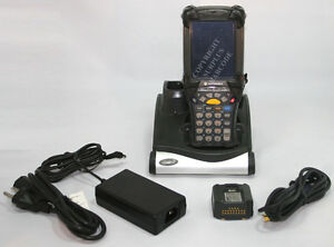 Symbol Motorola Mc9090 sk0hjafa6wr Wireless Barcode Scanner Windows Mobile 5 0
