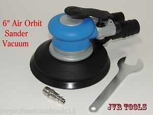 6 Air Orbit Sander Lightweight Random Orbital Palm Sander Vacuum Auto Body Sand