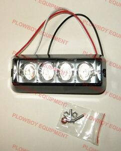 Amber Strobe Warning Light Led For Case Ih Deere Ford New Holland Tractor Wagon