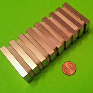 8 Neodymium N48h Block Magnets 2 X 1 X 5 16 High Heat Rare Earth Magnets