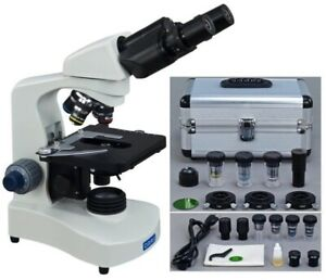 40x 2000x Binocular Phase Contrast Compound Microscope ph Objectives