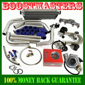 Wt3 t4 Turbo Kit Vw For Jetta Golf Passat Beetle Cabrio Mk2 Mk3 Mk4 2 0l 8v Sohc