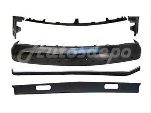 For 1994 1999 Suburban Gas Front Bumper Bar Blk Strip Filler Valance W Tow Hole