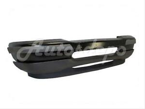 For 1998 2000 Ford Ranger 2wd Styleside Front Bumper Black Bar Pad Valance 4pcs