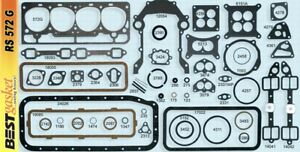 Ford edsel mercury 272 292 Y block Full Engine Gasket Set kit Best 1955 64