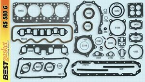 Dodge plymouth desoto 270 315 325 Poly Full Engine Gasket Set kit Best 1956 58