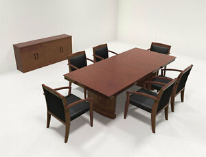 Traditional Rectangular 8 Feet Office Conference Table ro sor c2