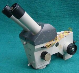 Zeiss Stemi Sr Microscope Body With Nikon 10x 21 Eyepieces no Objective cswb