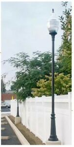 Street Light Road Outdoor Lamp Post wOpt Height Poles SMB1 Commercial $1,429.00