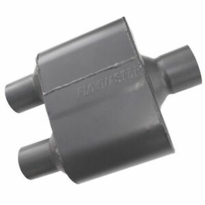 Flowmaster Super 10 Series Performance Muffler 2 5 Center In 2 25 Dual Out