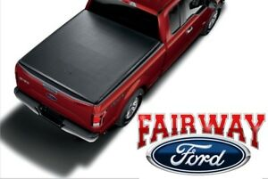 2015 Thru 2019 F 150 Oem Genuine Ford Soft Roll Up Tonneau Bed Cover 5 5 New