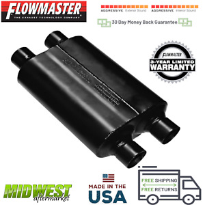 Flowmaster Super 40 Series Performance Muffler 2 5 Dual In 2 5 Dual Out