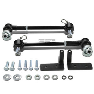 Fit Jeep Cherokee Xj 4 6 offroad Lift Front Sway Bar Link Quick Disconnect Kit