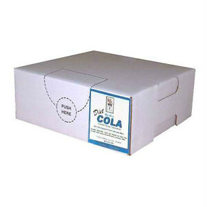 Diet Cola Syrup Concentrate Soda Pop Bag N Box Gallon makes 6 Gallons