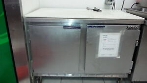 2 Door Worktop Cooler freezer superior