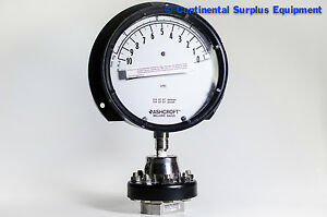 4 1 2 Low pressure Bellows Gauge 10 0 Inwc Vacuum With Diaphragm 300 Assembly
