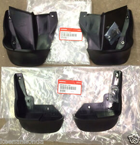 Genuine Oem Honda Civic 2dr Coupe 4dr Sedan Splash Guard Set 1996 1998 S01 S04