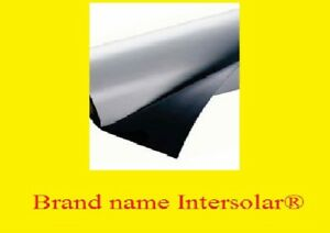 12 X 5 Roll Flexible White Magnetic Car Vehicle Advertising Sheet Sign Vinyl