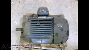 Emerson 8p30p2c Motor 3 Phase 460v 35amps 40sf Amps 60hz 30hp 1775rpm 190852