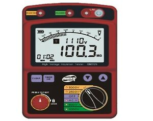 High Voltage 5kv Insulation Resistance Tester Meter Megohmmeter 1t Ohm Dar Pi