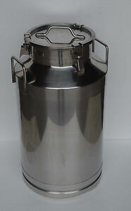 15 9 Gallon 60l Stainless Steel Wine milk Pail Beer Liquid Vessel Home Storage