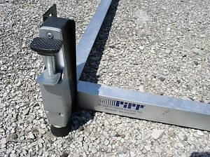 St Louis Pickup pipp Mobile Storage industrial Shelving Track Carriage System